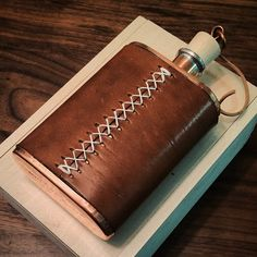 Black Friday Sale || we've had a tremendous response to these handcrafted leather wrapped copper flasks. They are nearly sold out but we will be restocking them for the second week of December. www.bexargoods.com