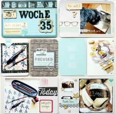 Bits  Pieces: * Project Life Woche/Week 35 *