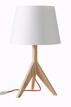 Ellos Home Bordlampe Träpod Hvit - Bordlamper   Ellos Mobile