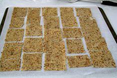 Frøkjeks til ost og annet - Mat På Bordet Krispie Treats, Rice Krispies, Anna, Desserts, Food, Tailgate Desserts, Deserts, Essen, Postres