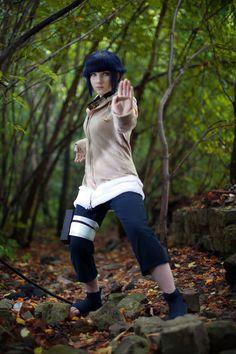 AMAZING cosplay ll Naruto ll Team 8: Hinata Hyuga by slivovayaSva (Reference)
