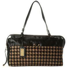 Cheap Badgley Mischka - Miranda Houndstooth Shoulder Bag (Black/Nutmeg) - Bags and Luggage online - 6pm is proud to offer the Badgley Mischka - Miranda Houndstooth Shoulder Bag (Black/Nutmeg) - Bags and Luggage: Timeless sophistication meets fashion forward style in this undeniably chic Miranda Houndstooth Shoulder Bag!