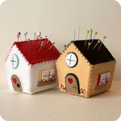Gingermelon Dolls: Pincushion Cottage