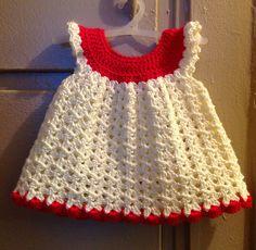 Ravelry: Angel Wings Pinafore ~ Free crochet pattern