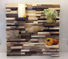 Image result for feature wall shelf