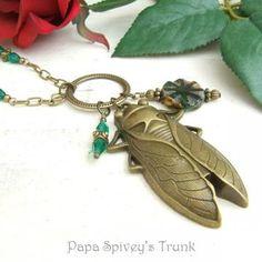 Beetle Pendant Necklace 1130814