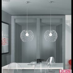 Modern Dining Room Decorations Ideas With Gorgeous Bubble Pendant Lights And Minimalist Dining Table Featuring Acrylic Chairs of Stylish Bubble Pendant Lights Inspirations  George Nelson Bubble Lamps Creative Bubble Pendant Light Bubble Pendant Ligh Fixtures Make Your Own Pendant Light Large Pendant Lighting . 600x600 pixels