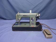 MORSE 600 Heavy Duty Steel  Sewing Machine Rare. Bulitt proof #Morse