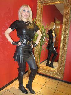 LOREXA Wetlook Lady DOLLY BARBINA in Public