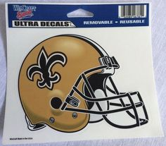 New Orleans Saints Football WinCraft Sports Ultra Decals Removable Reusable…