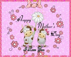 So cute bovine wishes for a sweet mother. Free online Simple & Sweet Wishes ecards on Mother's Day Big Hugs For You, Hug You, Mother Day Wishes, Happy Mothers Day, Warm Hug, Love Hug, Mum Birthday, Mom Day, Flower Quotes