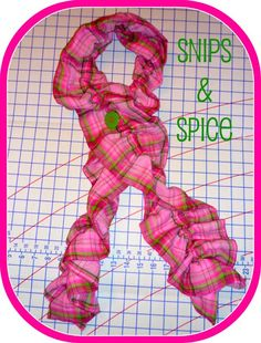 Snips & Spice: Ruffle Scarf