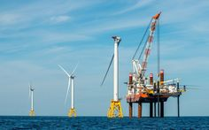 The U.S's first offshore wind farm has turbines twice as tall as the Statue of Liberty