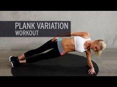 Plank 2.0.: Plank Workout für flachen Bauch
