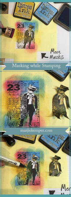 How to Use Masks when Stamping (Marjie Kemper)