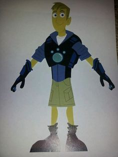Paper Dolls for boys, or Wild Kratts fan.