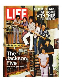 On this day in LIFE magazine — September 24, 1971: The Jackson Five with Mom and Pop