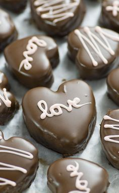 Chocolate chip Cookie Dough Valentine's Hearts are irresistible cupid inspired dessert. Chocolate, peanut butter and cookie dough in the shape of a heart - do I need to say more?