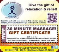 It's Special Time @ Total BodyWorks!