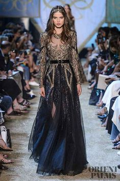 Elie Saab Haute Couture Herbst/Winter The Effective Pictures We Offer You About edgy Runway Fashion A quality picture can tell you many things.