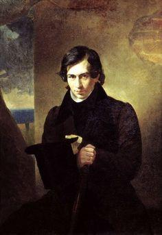 Karl Bryullov, Portrait of the Writer Nestor Vasilevich Puppeteer