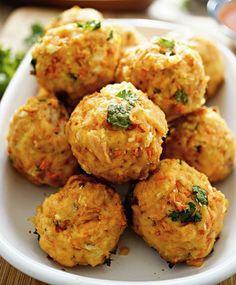 Polpette di pesce e patate e tutti i segreti per un #fritto perfetto #ricette #cucina #polpette