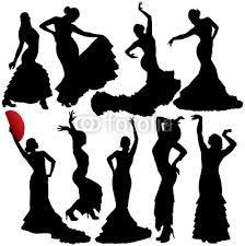 Flamenco Dancer Silhouette Clipart - Clipart Suggest Flamenco Party, Flamenco Dancers, Spanish Dancer, Hispanic Heritage, Silhouette Vector, Silhouette Tattoos, Stencils, Stock Photos, Portrait