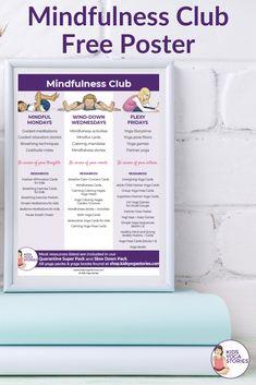 Mindfulness club ideas for kids   Kids Yoga Stories Kindness Activities, Calming Activities, Kids Learning Activities, Classroom Activities, Teaching Kids, Motor Activities, Classroom Ideas, Mindfulness In Schools, Mindfulness For Kids