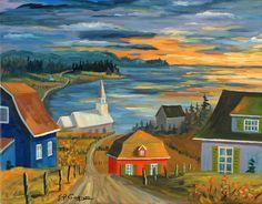 Peintres québécois - Jean-Pierre Gagnon