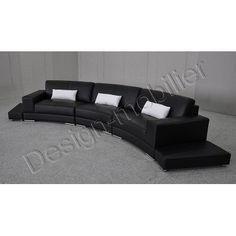 Canapé courbe design