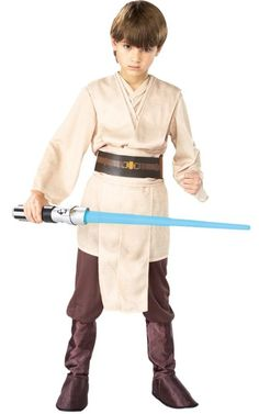 Ready for some Star Wars fun? He'll be using the force and loving it in this Jedi Knight Costume For Boys!  Check out this boys dress up outfit and other great costumes for boys who love adventure in the blog post at www.kidslovedressup.com!
