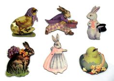 Easter Decorations,Vintage Victorian Reproduction Collectibles SOLD