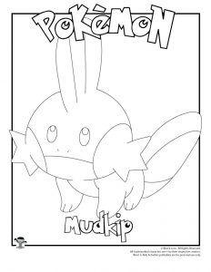 Mudkip Coloring Page Woo Jr Kids Activities Coloring Pages Mudkip Pokemon Coloring