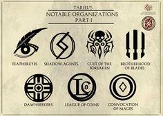 Tariel's Notable Organizations - Part 1 by Levodoom.deviantart.com on @DeviantArt