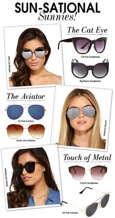 No Shade, Just Shades - Sun-sational Sunnies! #summer #sunnies