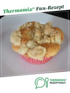 Apfel-Muffins mit Knusper-Zimt-Streusel von WonneK. Ein Thermomix ® Rezept aus der Kategorie Backen süß auf www.rezeptwelt.de, der Thermomix ® Community.