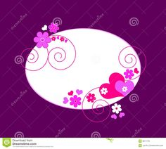 hearts and flowers background - Google Search