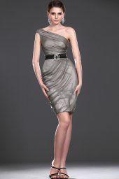 Nouvelle robe magnifique Parti une épaule