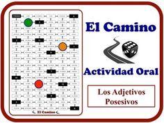 Spanish Speaking Activity with Possessive Adjectives. Quick Prep