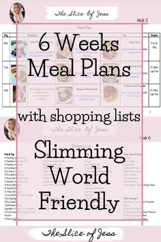 These meal plans are great for people following Slimming World. They are designed depending on which supermarket you shop in. They are packed full of amazing Slimming World recipes which will give you lots of delicious breakfast, lunch and dinner ideas. Each week has its own shopping list so each week will be quick and easy. There are tons of simple Slimming World recipes that are quick and easy to make. Slimming World Desserts, Slimming World Dinners, Slimming World Breakfast, Vegetarian Desserts, Vegetarian Breakfast, Vegetarian Dinners, Home Meals, Syn Free, Lunches And Dinners