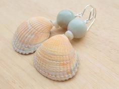 Ohrhänger - Ohrringe mit Muscheln - ein Designerstück von Olemole bei DaWanda