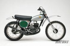 The editors of Dirt Bike pick the 10 Greatest Motocross Bikes of all time. Motocross Racer, Motocross Bikes, Vintage Motocross, Classic Honda Motorcycles, Vintage Motorcycles, Small Motorcycles, Custom Motorcycles, Custom Bikes, Womens Motorcycle Helmets