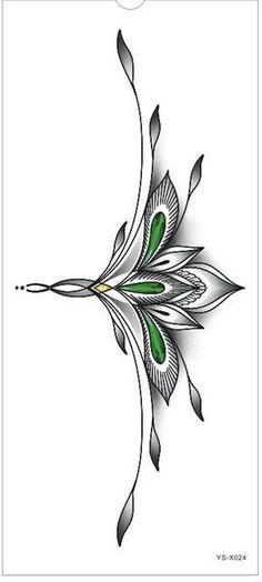 Waterproof Temporary Tattoo sticker mandala totem large body henna tattoos chest stickers breast tatto flash tatoo fake tattoos