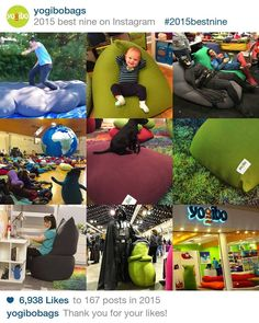 We had so much fun this year sharing the awesomeness with all of you! Here are our best nine of 2015 over at our Instagram! www.Instagram.com/yogibobags