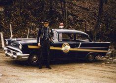 57 Chevy police car