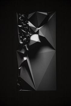 dromik:  Refik Anadol — Monilithics / Peruvian Landscape Projection on Parametric Sculpture,96inch x 48 inch x 6 inch, 45 Minutes HD, 5.1 Channel Sound