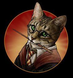 Harry 'Paw'ter by JennyParks.deviantart.com on @deviantART