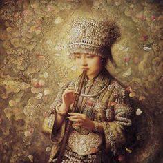 Que él te auxilie desde su Santuario y te proteja desde Sión  flautista criança