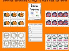 December Literacy Centers for First AND Second Grade (FREEBIE too) Grade 1, First Grade, Second Grade Freebies, Christmas Language Arts, Ela Classroom, Classroom Ideas, Holidays Around The World, Teaching Time, Literacy Centers
