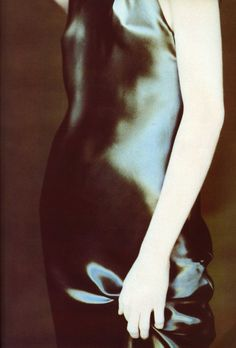 Angela Lindvall photographed by Paolo Roversi - Krizia Ad Campaign: Fall 1997